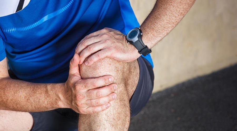 ból kolana przed zastosowaniem preparatu