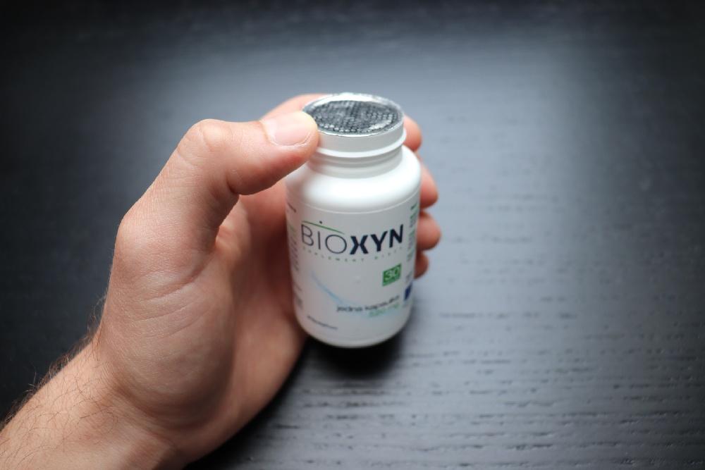 zaplombowane opakowanie bioxynu