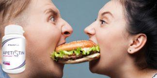 zahamowanie apetytu z apetistin
