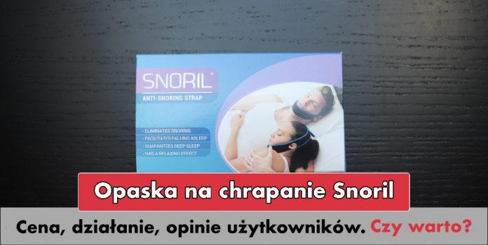 opaska snoril przeciw chrapaniu